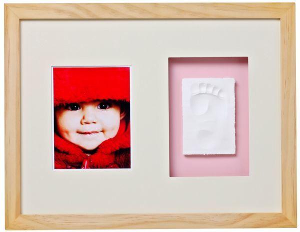 Baby Memory Print  Рамка за стена и отливка /натурал/ 012